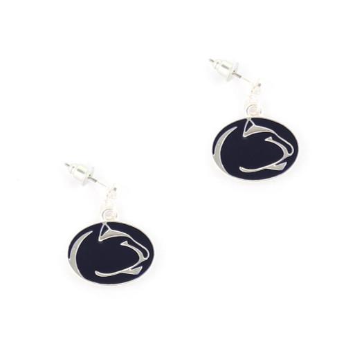 Penn State Enamel Logo Earrings