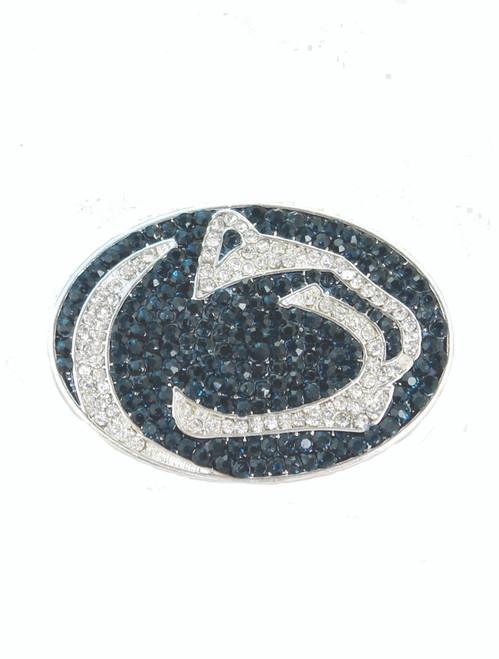 Penn State Crystal Logo Pin