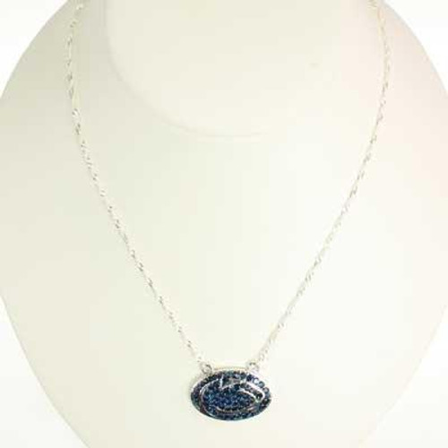 PSU Crystal Logo Necklace