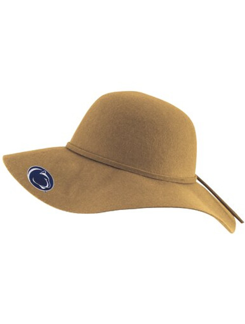 Penn State Tan Wool/Felt Brim Hat