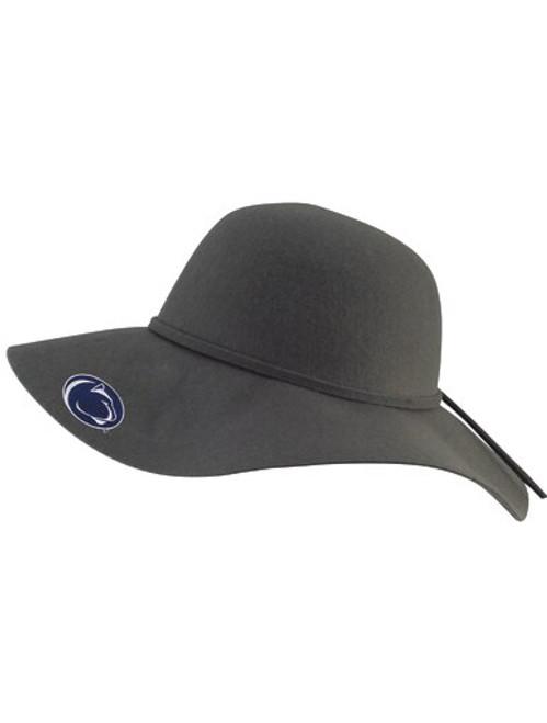 Penn State Wide Brim Floppy Hat Charcoal