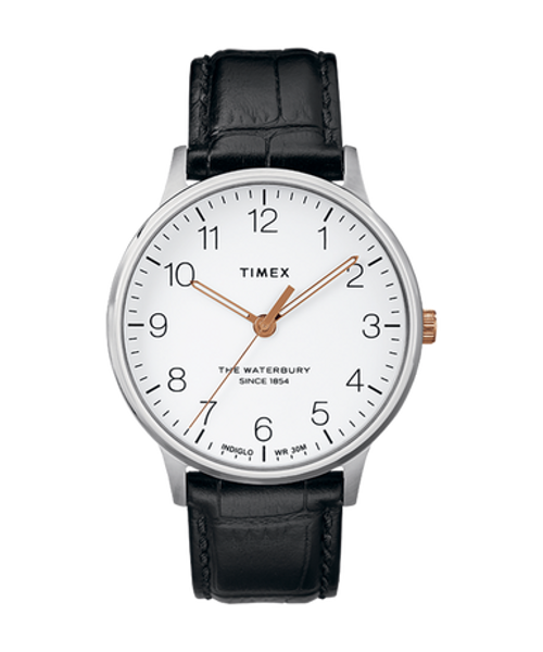 Waterbury Classic Dial w/ Black Leather Strap