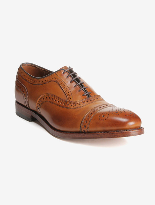 Allen Edmonds Strand Walnut Cap-Toe Oxford