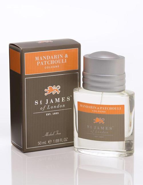 Mandarin & Patchouli Cologne