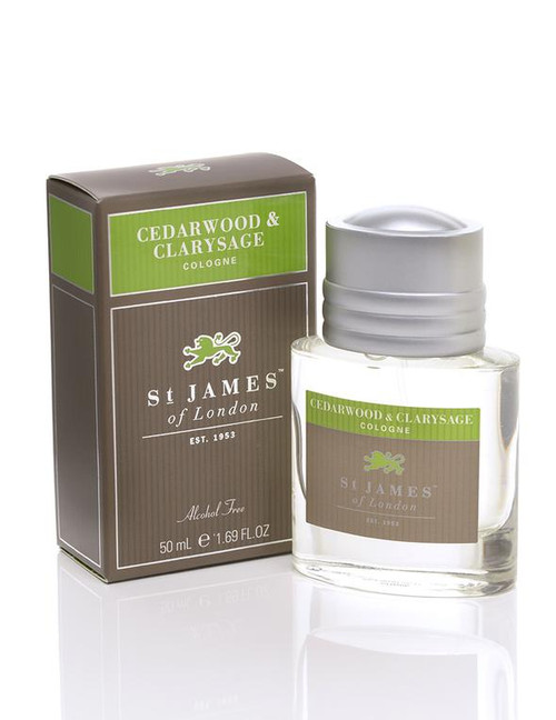 St. James of London Cedarwood & Clarysage Men's Cologne