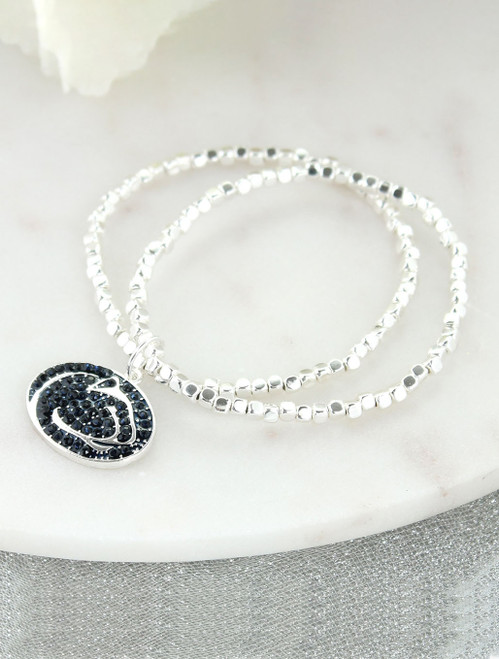 Penn State Stretch Bracelet