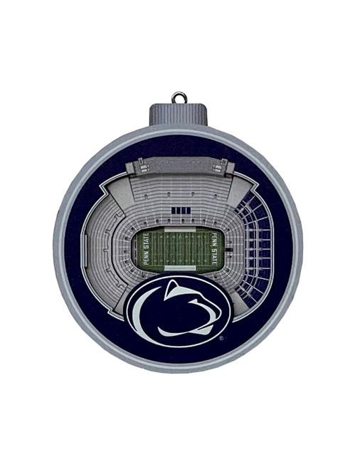3D Beaver Stadium Penn State Ornament