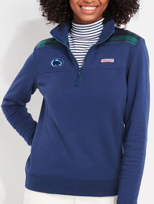 Penn State Quarter Zip Vineyard Vines Shep Shirt Navy