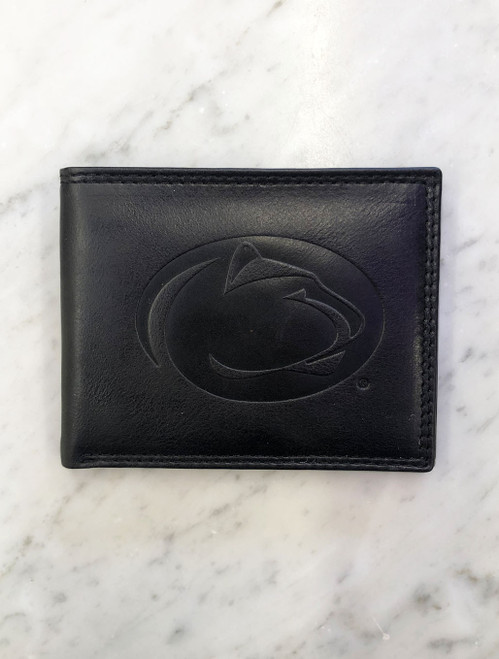 Penn State Wallet Westbridge Black Leather Bifold