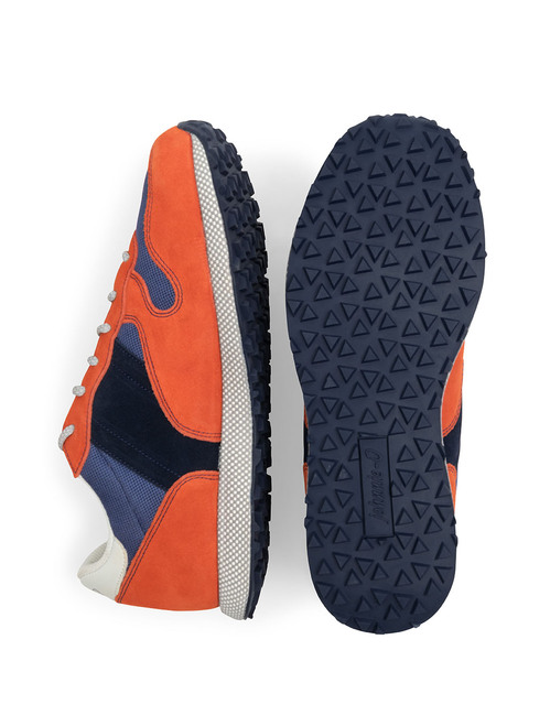 Range Runner Sneaker Johnnie-O Orange Pair
