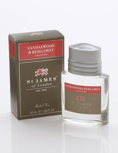 Sandalwood & Bergamot Cologne