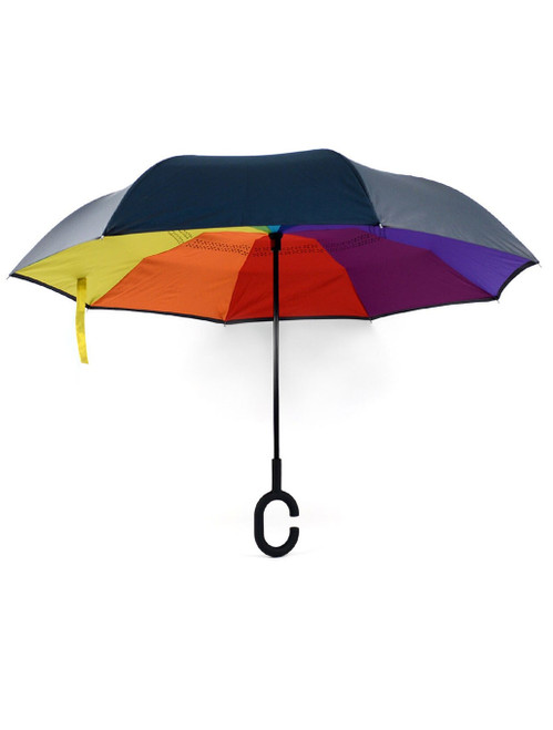 Rainbow Inverted Umbrella