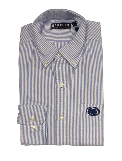 Penn State Stripe Oxford Shirt