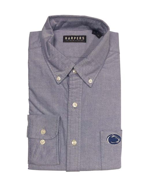 Light Blue Penn State Oxford Shirt