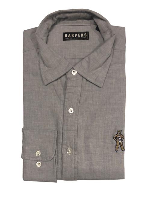 Penn State Nittany Lion Grey Brushed Twill Shirt
