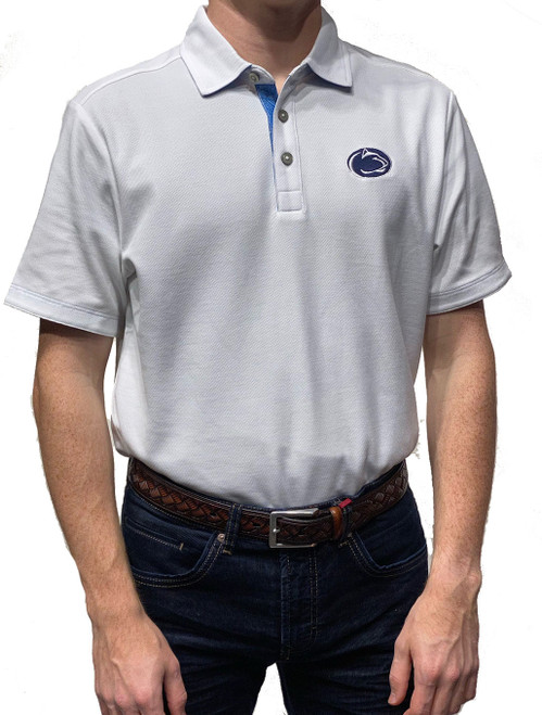 White Penn State Polo Tommy Bahama Sport Limited