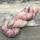 """Cherry Blossom"" Hand Dyed Hitchhiker Sock Yarn"
