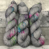"""Static Noise"" Hand Dyed Summit Sport Yarn"