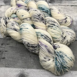 """Whiteout"" Hand Dyed Expedition DK Yarn"