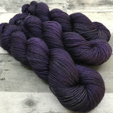 """Shrinking Violet"" Hand Dyed Expedition DK Yarn"