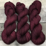 """Pomegranate"" Hand Dyed Summit Sport Yarn"