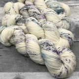 """Whiteout"" Hand Dyed Summit Sport Yarn"