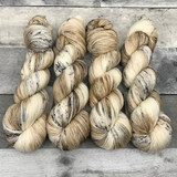 """Snow Leopard"" Hand Dyed Summit Sport Yarn"