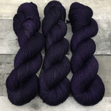 """Shrinking Violet"" Hand Dyed Summit Sport Yarn"