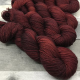 """Poison Apple"" Hand Dyed Summit Sport Yarn"