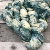 """Frosted Spruce"" Hand Dyed Summit Sport Yarn"