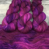 """Pretty in Punk"" Backcountry Sock Weight Yarn"