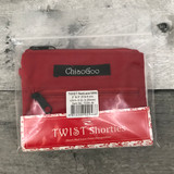 "ChiaoGoo Twist Red Lace Shorties Interchangeable Needle Set - 2"" and 3"" Tips (Sizes 0-3)"