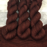 """Toasted Chestnut"" Backcountry Sock Weight Yarn"