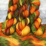 """Leaf Peeping"" Backcountry Sock Weight Yarn"