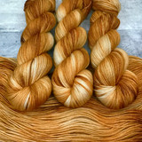 """Caramel Corn"" Backcountry Sock Weight Yarn"