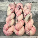 """Cherry Blossom"" Backcountry Sock Weight Yarn"