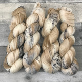 """Snow Leopard"" Backcountry Sock Weight Yarn"