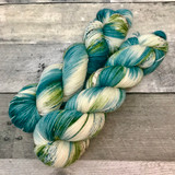 """Frosted Spruce"" Backcountry Sock Weight Yarn"