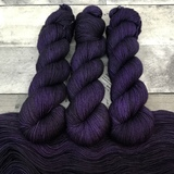 """Shrinking Violet"" Backcountry Sock Weight Yarn"
