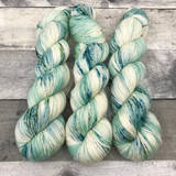 """Water Nymph"" Hand Dyed Expedition DK Yarn"