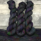 """Grease Monkey"" Hand Dyed Expedition DK Yarn"