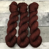 """Toasted Chestnut"" Hand Dyed Expedition DK Yarn"