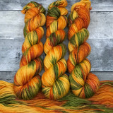 """Leaf Peeping"" Hand Dyed Expedition DK Yarn"