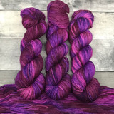 """Pretty in Punk"" Hand Dyed Expedition DK Yarn"