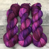 """Pretty in Punk"" Hand Dyed Summit Sport Yarn"