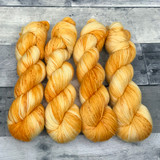 """Sunny Disposition"" Hand Dyed Summit Sport Yarn"