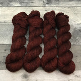 """Toasted Chestnut"" Solo Venture Light Fingering Weight Yarn"