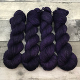 """Shrinking Violet"" Solo Venture Light Fingering Weight Yarn"