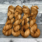 """Caramel Corn"" Solo Venture Light Fingering Weight Yarn"