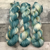 """""""Frosted Spruce"""" Solo Venture Light Fingering Weight Yarn"""